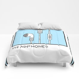 HEADPHONES Card Comforters