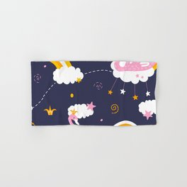 swan pattern Hand & Bath Towel