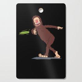 Funny Disc Golfer Gift: Finding Bigfoot Cutting Board