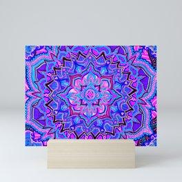 Tranquil Lotus Mini Art Print