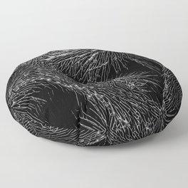Joshua Tree Silver by CREYES Floor Pillow