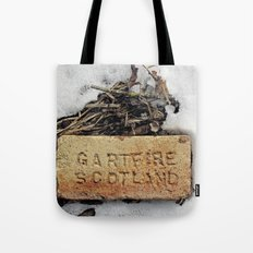 Brick in the Snow Tote Bag