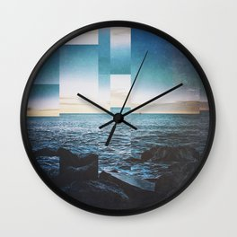 Fractions A08 Wall Clock