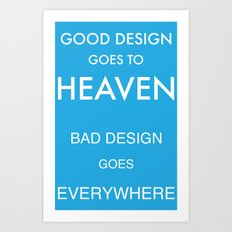Good Design Art Print