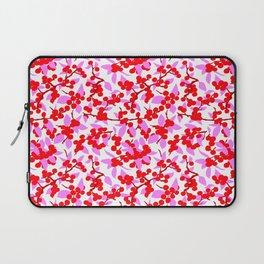 Winterberries in Bright Pink Laptop Sleeve
