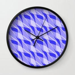 Blue Tropical Peel Wall Clock