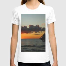 Naples Pier Sunset T-shirt
