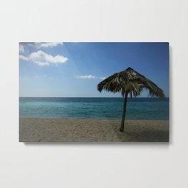 Caribean beach Metal Print