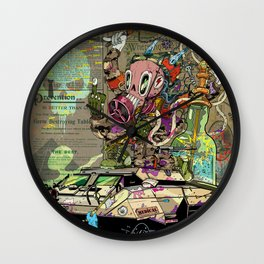 Warpath Wall Clock