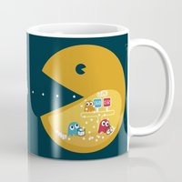 games Mugs featuring Indoor Games by KingImagine