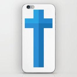 Christian Cross iPhone Skin