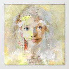 The nice girl Canvas Print