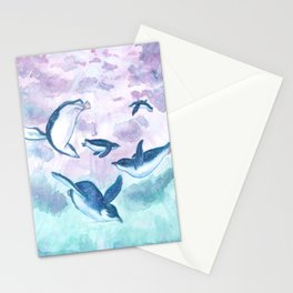 Kororā Stationery Cards
