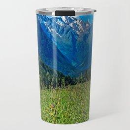 Bergwiese mit Talschluss Travel Mug