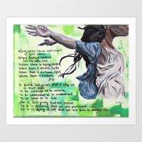 The Prayer of Saint Francis of Assisi Art Print