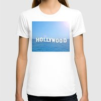 hollywood T-shirts featuring Sea Hollywood by Lord Solomon's Gallery