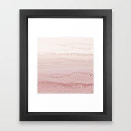 WITHIN THE TIDES - BALLERINA BLUSH Framed Art Print