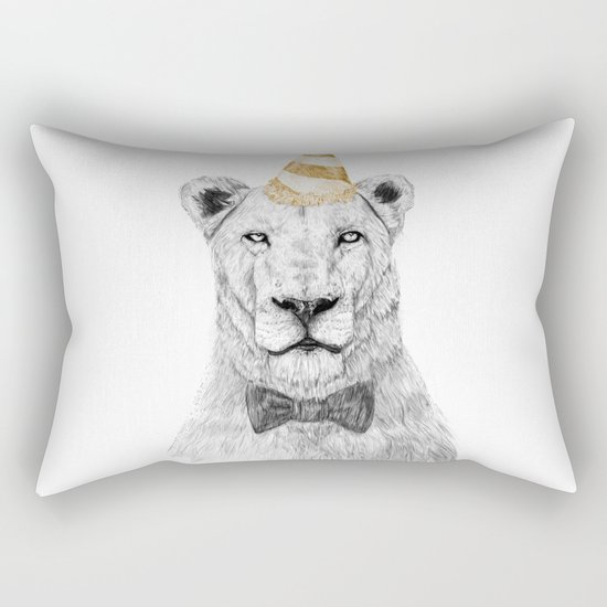 Get the party started (color) Rectangular Pillow