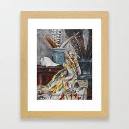 Items Framed Art Print