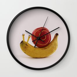 Snail fruit Wall Clock
