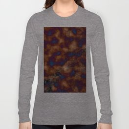 Brown vibration Long Sleeve T-shirt