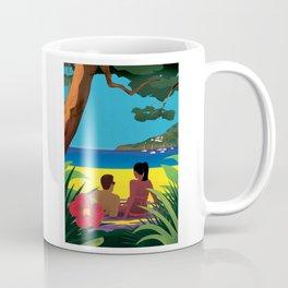 A Shaded Beach Coffee Mug