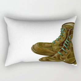 Trekking shoes Rectangular Pillow