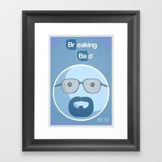 Breaking Bad Blue Sky Version Framed Art Print