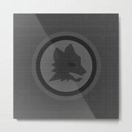 ROMA - ALL BLACK (WOLF EDITION) Metal Print