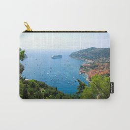 The View Over Villefranche Sur Mer Carry-All Pouch