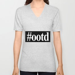 OOTD (Outfit Of The Day) Unisex V-Neck