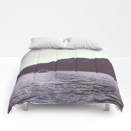Sternwheeler on Lake Tahoe Comforters