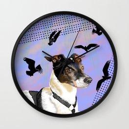 Jack Dreams of Osprey Wall Clock