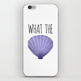 What The Shell iPhone Skin