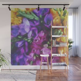 Freesias Wall Mural