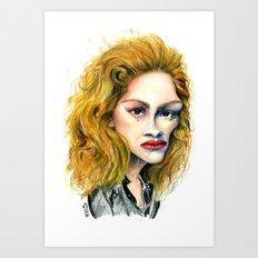 Julia Roberts Art Print