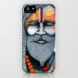 Holy Man iPhone Case