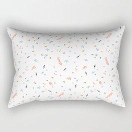 Forest Confetti Rectangular Pillow
