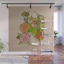 Squirrels Just Want To Have Fun Wall Mural