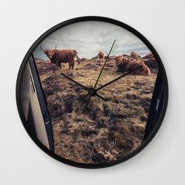 A Scottish view Wall Clock