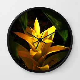 On The Golden Site Wall Clock