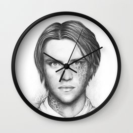 Dr. Chase-House MD-Jesse Spencer-Portrait Wall Clock