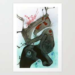 Sleep Paralysis Art Print