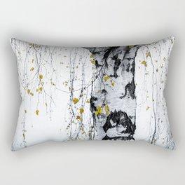 Birch Tree 1 Rectangular Pillow