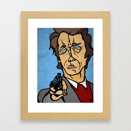 Well Do Ya, Punk? Framed Art Print