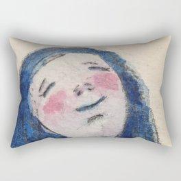 Dreaming Girl Rectangular Pillow