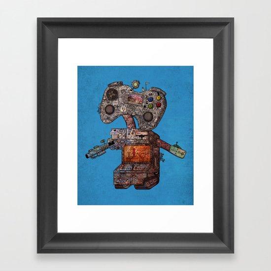 Gamebot Framed Art Print