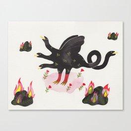 Chimera & Fire Rocks Canvas Print