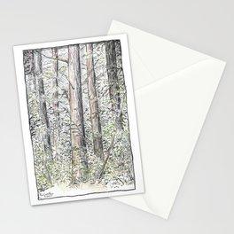Tree Aspects 4 Stationery Cards