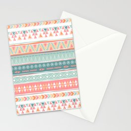 Navajo tribal pattern Stationery Cards